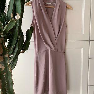 Babaton mauve dress